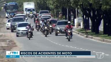 Maioria no trânsito de Santarém, motociclistas estão mais expostos à riscos de acidentes - Confira os cuidados básicos para não entrar nas estatísticas de acidentes de trânsito.