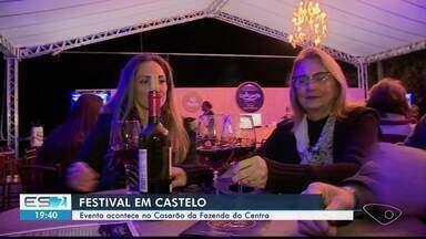 Festival em Castelo reúne comida boa, vinhos e cervejas - Evento acontece no Casarão da Fazenda do Centro.