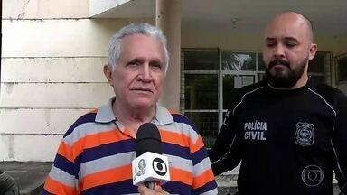 Fantástico mostra novos relatos de vítimas do médico e prefeito preso por abusar de mulher - José Hilson de Paiva prestou depoimento de três horas na superintendência da Polícia Civil.