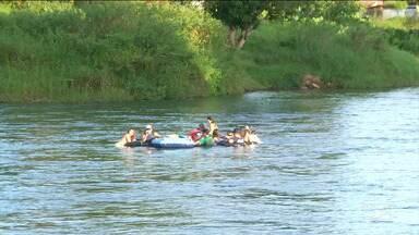 Marinha está de plantão em áreas de rios Balsas - Tudo para garantir a segurança dos banhistas que aproveitam a temporada de veraneio nas águas do Rio Balsas.