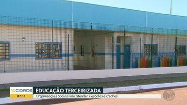 Câmara Municipal aprova projeto para OS administrar creches em Ribeirão Preto - Funcionários terceirizados passarão a atender 2,5 mil crianças até 5 anos.