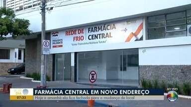 Mudança de endereço da Farmácia Central altera atendimentos - Quem precisar de remédios terá que buscar em postos de saúde