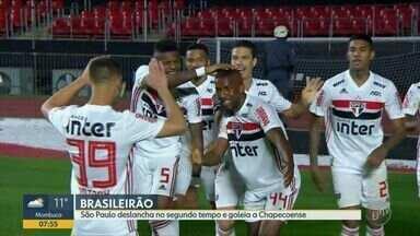 São Paulo goleia a Chapecoense pelo Campeonato Brasileiro - Confira todos os gols desta partida na Capital.