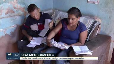 Unidade de defensoria pública em Montes Claros acumula cerca de 800 processos abertos - Muitos casos são de pessoas que recorrem à medicamentos ou tratamentos de saúde.