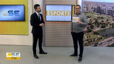 Thiago Barbosa apresentas os principais destaques do esporte sergipano - Thiago Barbosa apresentas os principais destaques do esporte sergipano.