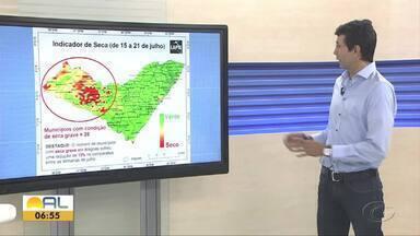 Professor fala sobre a situação da seca em Alagoas - Coordenador do Laboratório de Análise e Processamento de Imagens, Humberto Barbosa, fala sobre o assunto.