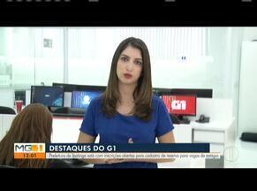 Confira os destaques do G1 Vales de Minas - Câmara oficializa posse do vereador Gustavo Morais Nunes (PTC) em Ipatinga.