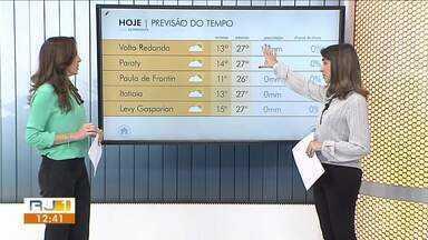 Previsão do tempo: sol predomina nesta terça-feira no Sul do Rio - Meteorologia prevê tempo seco e sem chuva na região.