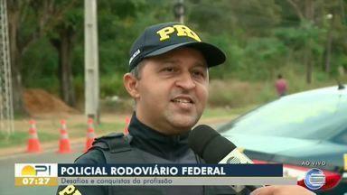 Dia do Policial Rodoviário é comemorado e conquistas da profissão são relembradas - Dia do Policial Rodoviário é comemorado e conquistas da profissão são relembradas