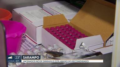 Número de vacinados contra o sarampo diminuiu no DF - Desde 2015 número de vacinados tem caído e já está abaixo do recomendado pela Organização Mundial de Saúde