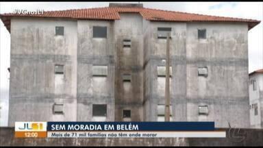 Cerca de 71 mil famílias não têm onde morar na grande Belém, aponta IBGE - Cerca de 71 mil famílias não têm onde morar na grande Belém, aponta IBGE