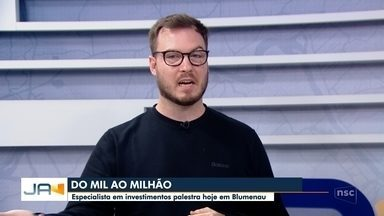 Especialista em investimentos palestra em Blumenau - Especialista em investimentos palestra em Blumenau