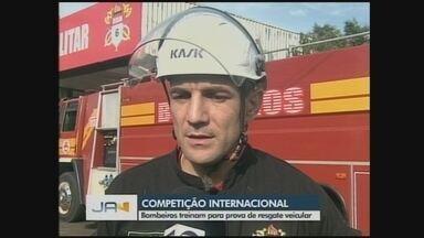 Bombeiros de Chapecó participam de competição de resgate veicular na Colômbia - Bombeiros de Chapecó participam de competição de resgate veicular na Colômbia