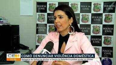 Nossa equipe fala sobre como denunciar violência doméstica - Saiba mais em g1.com.br/ce