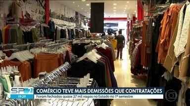 Estado de São Paulo teve o melhor junho na criação de vagas desde 2014 - No primeiro semestre o saldo também foi positivo, mas o setor do comércio teve mais demissão do que contratação