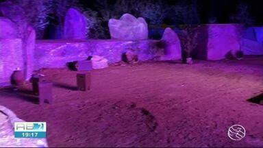 Espetáculo O Massacre de Angico , a morte de Lampião é encenado em Serra Talhada - Caren Diniz passa os detalhes sobre o espetáculo.