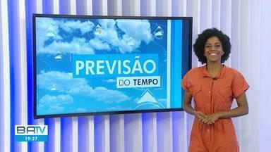 Confira a previsão do tempo em Salvador e no interior do estado - Previsão para sexta-feira (26).