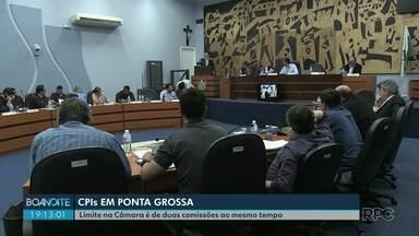 Câmara de Ponta Grossa tem limite para número de CPIs - Enquanto isso, outros assuntos relevantes não podem ser investigados.