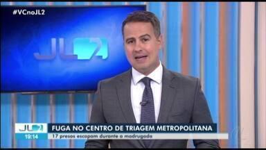 17 presos escapam durante a madrugada do Centro de Triagem Metropolitana no Pará - Presídio fica localizado em Santa Izabel do Pará, na região metropolitana.