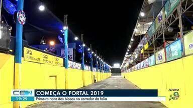 Tudo pronto para a primeira noite de Fortal - Confira mais notícias em g1.globo.com/ce