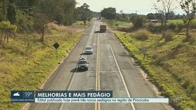 Rodovia Geraldo de Barros terá melhorias e novos pedágios na região de Piracicaba - Edital da concessão de 1200 quilômetros de rodovias no interior de São Paulo foi divulgado nesta quinta-feira (25).