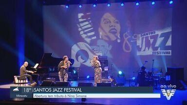 Abertura do Santos Jazz Festival tem tributo à Nina Simone - Evento acontece em Santos durante o fim de semana.