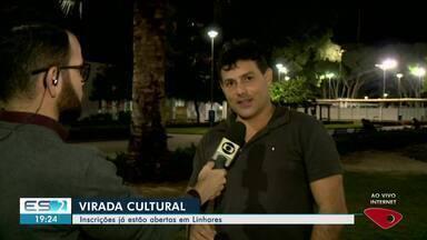 Inscrições já estão abertas para a Virada Cultural em Linhares, ES - Esta vai ser a 4ª edição do evento.