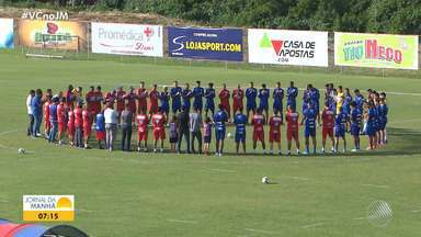 Bahia tem desfalque para jogo fora de casa contra a Chapecoense - Partida acontece no próximo domingo (26), às 11h.