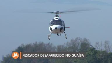 Bombeiros seguem buscas por pescador desaparecido que caiu no Guaíba - Um amigo que estava com ele conseguiu sair da água, na Ilha da Pintada, em Porto Alegre.