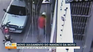 Homem acusado de ser o 'maníaco da moto' vai a novo julgamento - Saiba mais em g1.com.br/ce