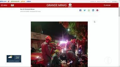 Carro cai dentro de córrego e motorista morre em Montes Claros - Confira outros destaques do G1 Grande Minas.