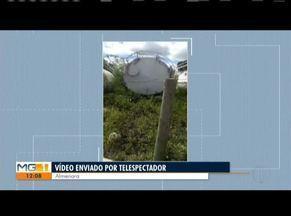 VC no MG: Morador de Almenara mostra caixas d' água abandonadas - Confira outras reivindicações dos telespectadores do Leste de Minas.