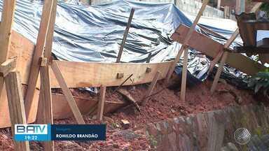 Chuva causa alagamentos, queda de árvore e deslizamentos de terra em Salvador e RMS - Somente nesta segunda-feira (29), a Codesal registrou cesca de cem ocorrências.