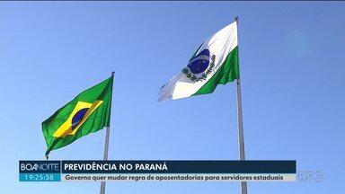 Governo do Paraná quer que Congresso Nacional inclua os estados na reforma da Previdência - Se isso não acontecer, o Governo quer fazer uma reforma para mudar a regra dos servidores estaduais.