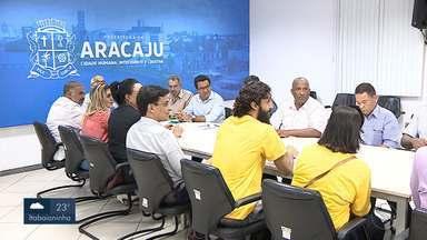 Moradores e prefeito de Aracaju se reuniram para debater enchentes no Bairro Jabotiana - Foi apresentado um estudo para evitar que o bairro sofra com outras enchentes.