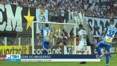 Santos deixa torcedores otimistas ao assumir liderança do Brasileirão - Peixe venceu por 3 a 1 o Avaí na Vila Belmiro na 12ª rodada da competição.