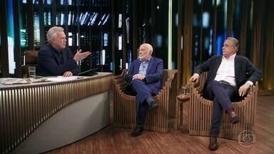 Domenico de Masi e Roberto D'ávila falam sobre trabalho remoto - Domenico fala sobre a importância da socialização