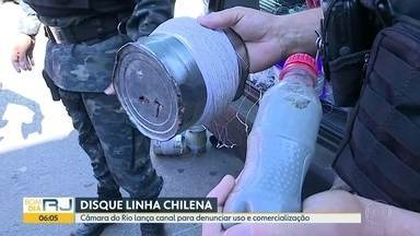 Canal de denúncia é lançado para coibir uso e comercialização de linha chilena e cerol - Disque linha chilena/cerol funciona todos os dias e a o denunciante não precisa se identificar.
