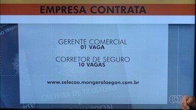 Veja vagas de emprego em Goiás - Confira oportunidades para várias áreas, e como se candidatar.