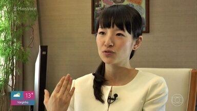 A japonesa Marie Kondo é a papisa do minimalismo - Relembre matéria feita com Kondo em 2015 com dicas para organizar e desapegar de objetos na casa