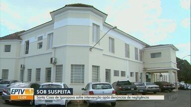 Santa Casa de Igarapava passa por intervenção após denúncias de negligência - Quatro bebês morreram e há suspeitas de irregularidades na administração.