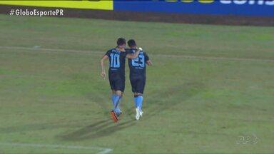 Londrina vence Paraná Clube com autoridade - Resultado coloca o Tubarão na terceira posição da Série B e tira o Tricolor do G4