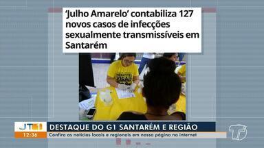 Contabilização de 127 infecções sexualmente transmissíveis é destaque no G1 Santarém - Confira essa e outras notícias regionais.