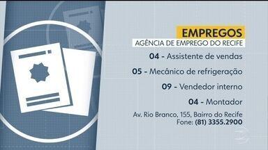 Confira vagas ofertadas na Agência de Emprego do Recife - Há oportunidades para assistente de vendas, mecânico de refrigeração, entre outras.