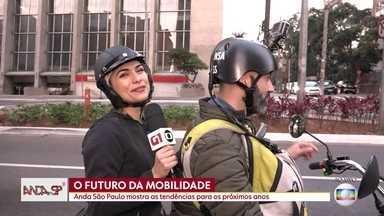 Micromobilidade é tema de discussão em São Paulo - São vários modelos de veículos que são utilizados para viagens curtas pela cidade