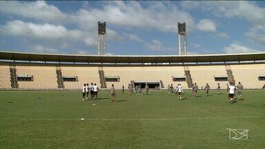 Sampaio se prepara para o confronto contra o Treze da Paraíba - O repórter Thiago Amorim tem mais informações do tricolor.
