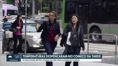 SP2 - Edição de sexta-feira, 02/08/2019 - Justiça manda suspender obras de revitalização da prefeitura no Vale do Anhangabaú. São Paulo tem o dia mais quente do inverno e também uma grande virada no tempo.