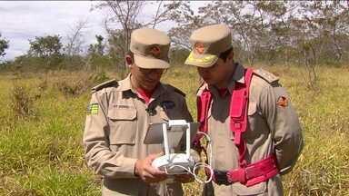 Drones ajudam a monitorar áreas sujeitas a queimadas - Em Goiás, os bombeiros conseguem acompanhar um parque de forma mais ágil e mais econômica.