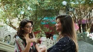 Nanda faz planos para sua futura carreira - Raíssa pergunta se Camelo e Serginho se acertaram e Nanda se surpreende ao saber que há um problema entre os irmãos