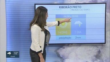Veja a previsão do tempo para a região de Ribeirão Preto - Temperatura deve chegar aos 26 graus em Barretos.